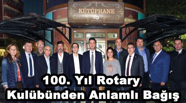 tekirdağ 100. Yıl Rotary Kulübünden Anlamlı Bağış