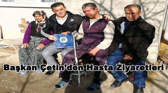 tekirdağ Başkan Çetin'den Hasta Ziyaretleri