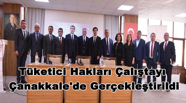 tekirdağ Tüketici Hakları Çalıştayı Çanakkale'de Gerçekleştirildi