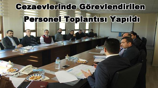 tekirdağ Cezaevlerinde Görevlendirilen Personel Toplantısı Yapıldı
