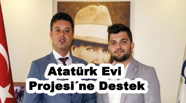 tekirdağ Atatürk Evi Projesi´ne Destek