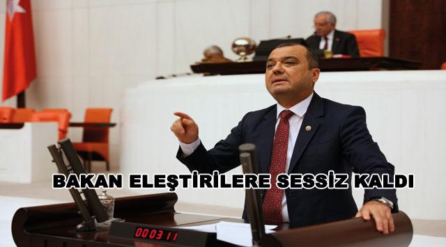tekirdağ BAKAN ELEŞTİRİLERE SESSİZ KALDI
