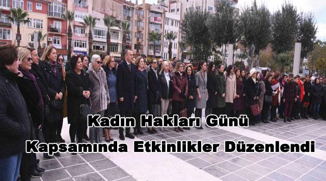 tekirdağ 5 Aralık Dünya Kadın Hakları Günü Kutlandı