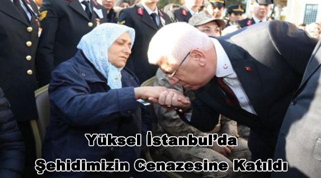 tekirdağ  Yüksel İstanbul'da Şehidimizin Cenazesine Katıldı
