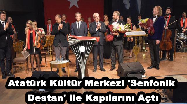 tekirdağ Atatürk Kültür Merkezi 'Senfonik Destan' ile Kapılarını Açtı
