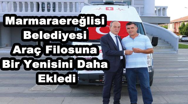 tekirdağ Marmaraereğlisi Belediyesi Araç Filosuna Bir Yenisini Daha Ekledi