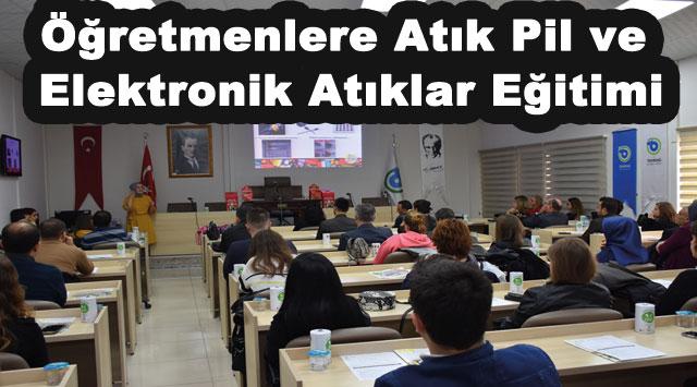 tekirdağ Öğretmenlere Atık Pil ve Elektronik Atıklar Eğitimi