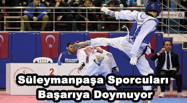 tekirdağ Süleymanpaşa Sporcuları Başarıya Doymuyor
