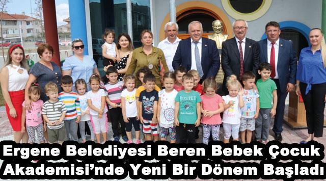 tekirdağ Ergene Belediyesi Beren Bebek Çocuk Akademisi'nde Yeni Bir Dönem Başladı