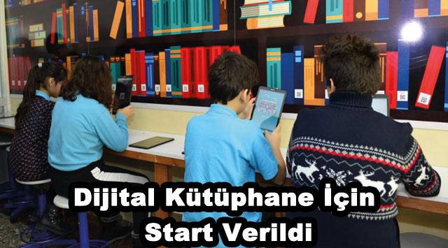 tekirdağ Dijital Kütüphane İçin Start Verildi