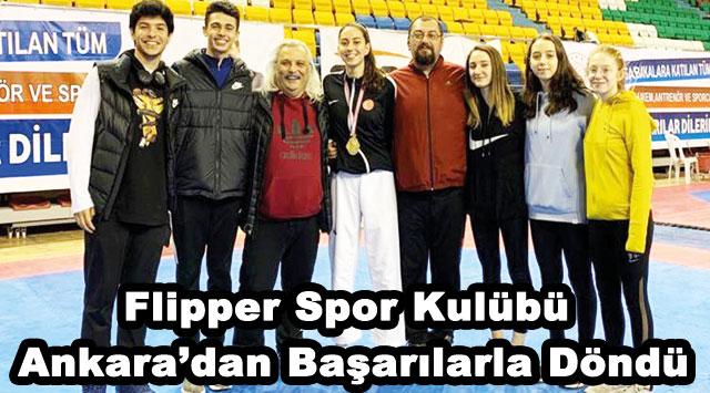 tekirdağ Flipper Spor Kulübü Ankara'dan Başarılarla Döndü