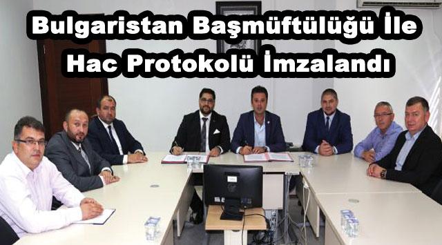 tekirdağ Bulgaristan Başmüftülüğü İle Hac Protokolü İmzalandı