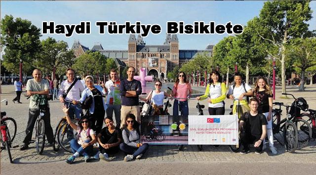 tekirdağ Haydi Türkiye Bisiklete