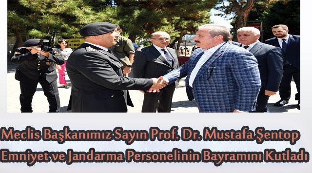 tekirdağ  Meclis Başkanımız Sayın Prof. Dr. Mustafa Şentop Emniyet ve Jandarma Personelinin Bayramını Kutladı