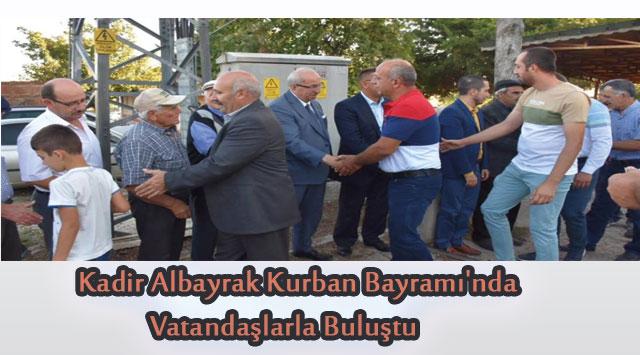 tekirdağ Kadir Albayrak Kurban Bayramı'nda  Vatandaşlarla Buluştu