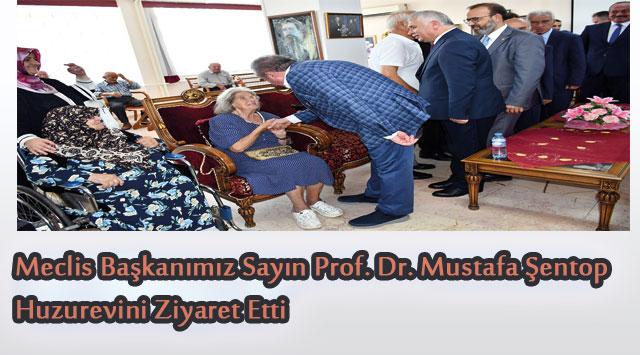 tekirdağ Meclis Başkanımız Sayın Prof. Dr. Mustafa Şentop Huzurevini Ziyaret Etti