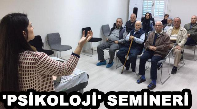 tekirdağ 'PSİKOLOJİ' SEMİNERİ
