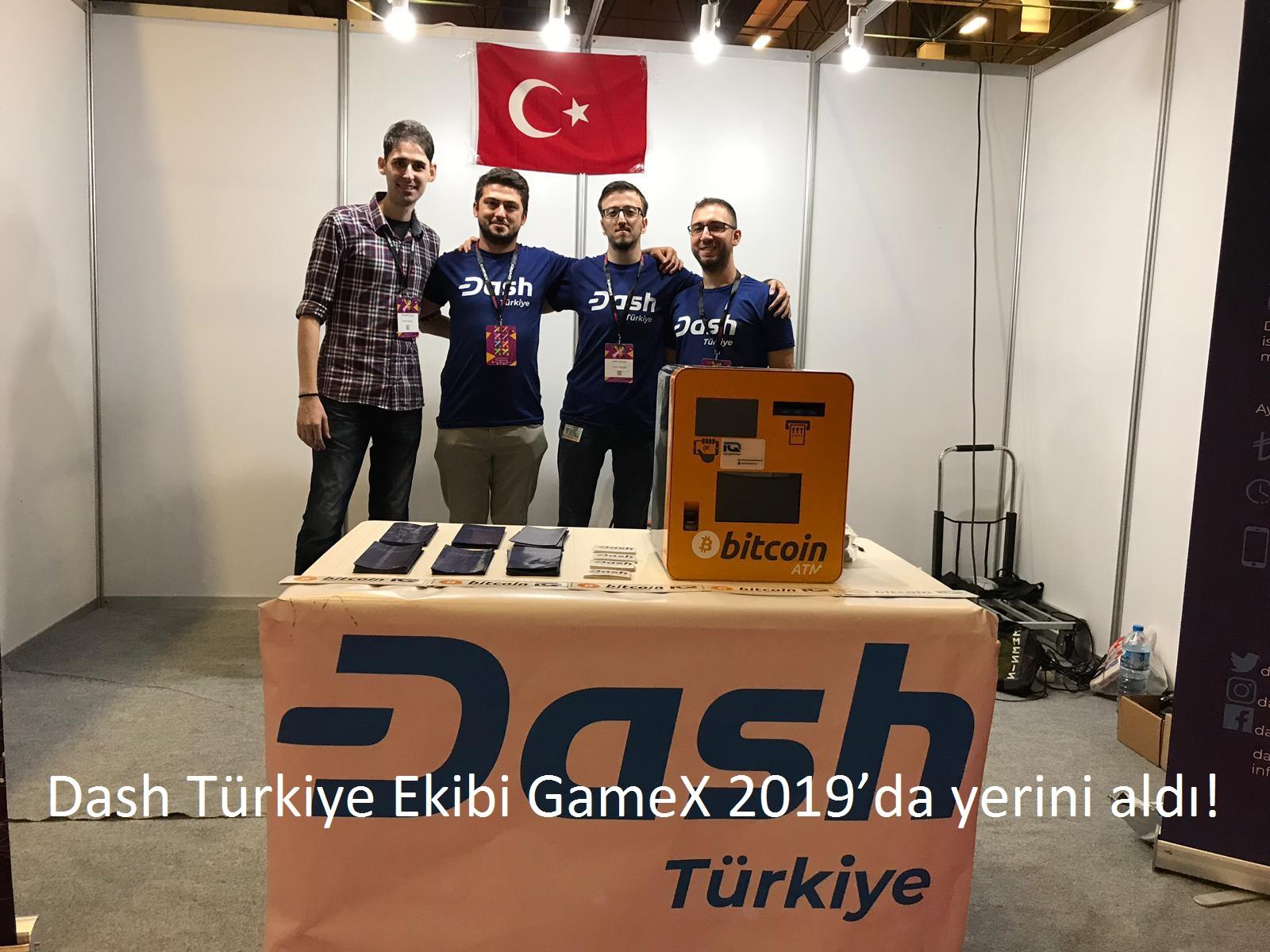tekirdağ Dash Türkiye Ekibi GameX 2019'da yerini aldı!