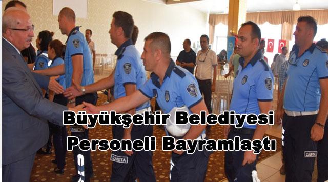 tekirdağ Büyükşehir Belediyesi  Personeli Bayramlaştı