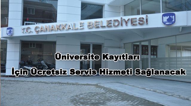 tekirdağ Üniversite Kayıtları İçin Ücretsiz Servis Hizmeti Sağlanacak