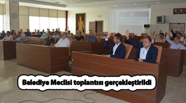 tekirdağ Belediye Meclisi toplantısı gerçekleştirildi