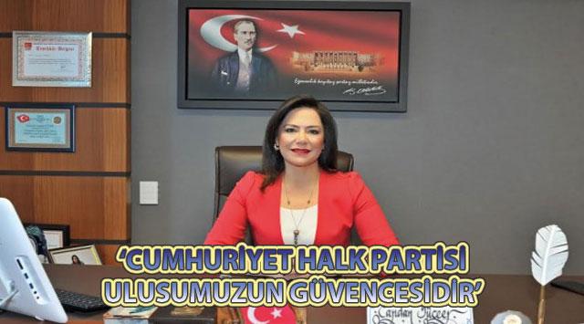 tekirdağ 'CUMHURİYET HALK PARTİSİ ULUSUMUZUN GÜVENCESİDİR'