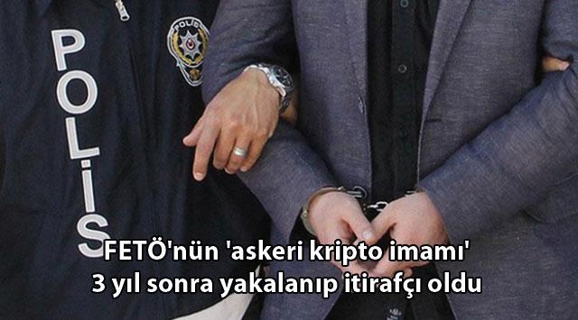 tekirdağ FETÖ'nün 'askeri kripto imamı' 3 yıl sonra yakalanıp itirafçı oldu