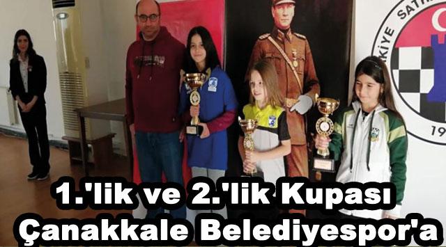tekirdağ 1.'lik ve 2.'lik Kupası Çanakkale Belediyespor'a