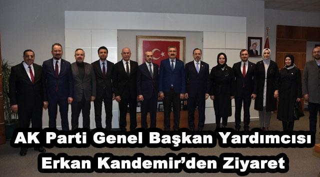 tekirdağ AK Parti Genel Başkan Yardımcısı Erkan Kandemir'den Ziyaret