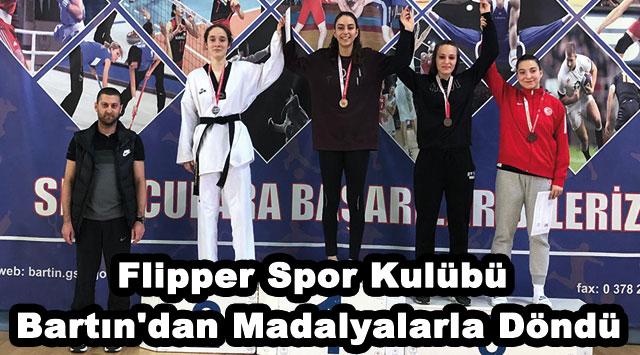 tekirdağ Flipper Spor Kulübü Bartın'dan Madalyalarla Döndü