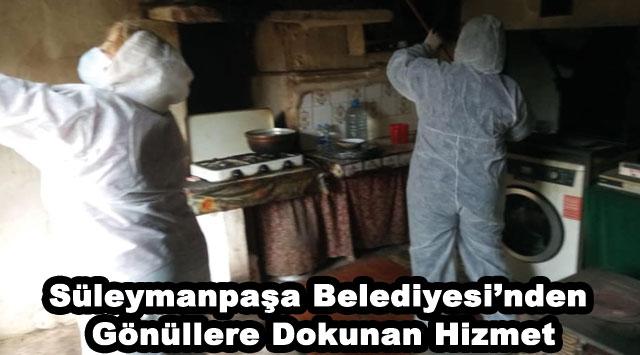 tekirdağ Süleymanpaşa Belediyesi'nden Gönüllere Dokunan Hizmet