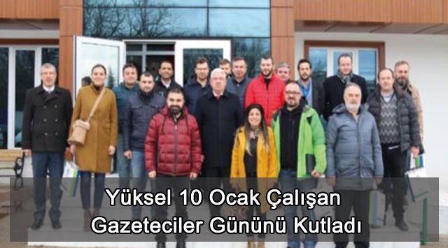 tekirdağ Yüksel 10 Ocak Çalışan Gazeteciler Gününü Kutladı