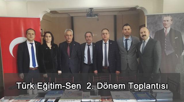 tekirdağ Türk Eğitim-Sen  2. Dönem Toplantısı