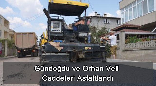 tekirdağ Gündoğdu ve Orhan Veli Caddeleri Asfaltlandı