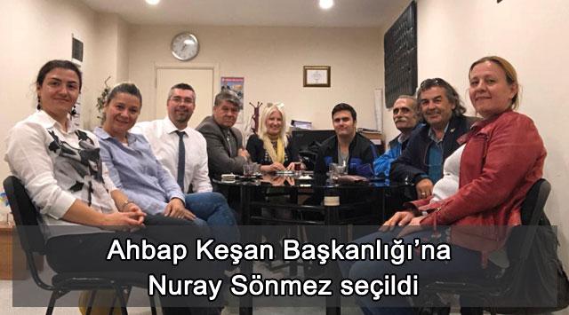 tekirdağ Ahbap Keşan Başkanlığı'na Nuray Sönmez seçildi