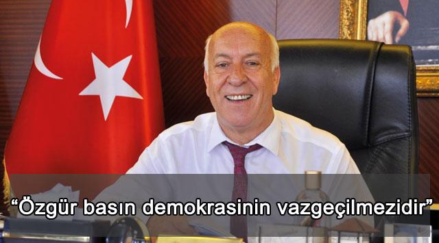 """tekirdağ """"Özgür basın demokrasinin vazgeçilmezidir"""""""
