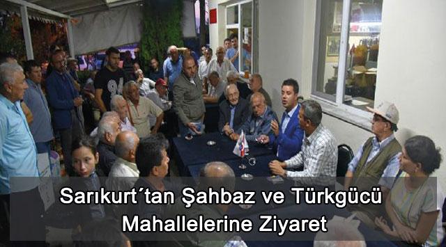 tekirdağ Sarıkurt´tan Şahbaz ve Türkgücü Mahallelerine Ziyaret