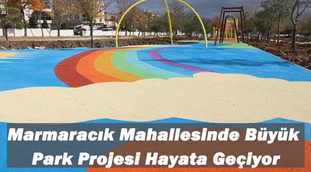tekirdağ Marmaracık Mahallesinde Büyük Park Projesi Hayata Geçiyor