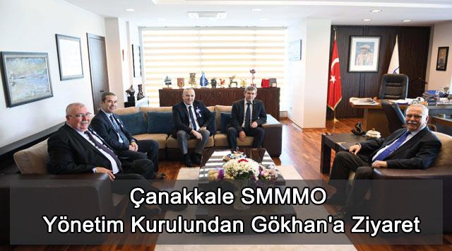 tekirdağ Çanakkale SMMMO Yönetim Kurulundan Gökhan'a Ziyaret