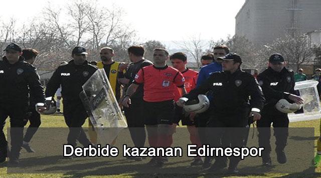 tekirdağ Derbide kazanan Edirnespor