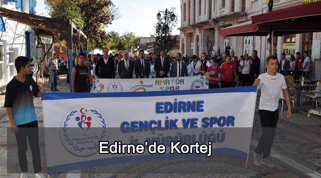 tekirdağ Edirne'de Kortej