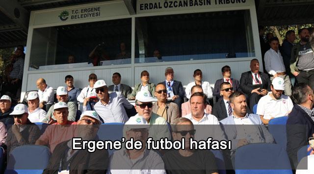tekirdağ Ergene'de futbol hafası