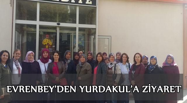tekirdağ EVRENBEY'DEN YURDAKUL'A ZİYARET