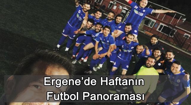 tekirdağ Ergene'de Haftanın Futbol Panoraması