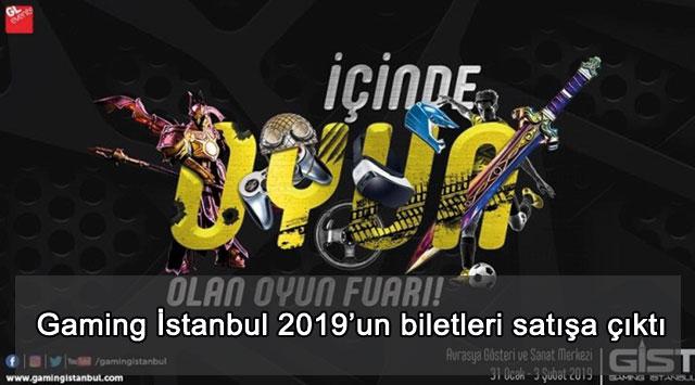 tekirdağ Gaming İstanbul 2019'un biletleri satışa çıktı