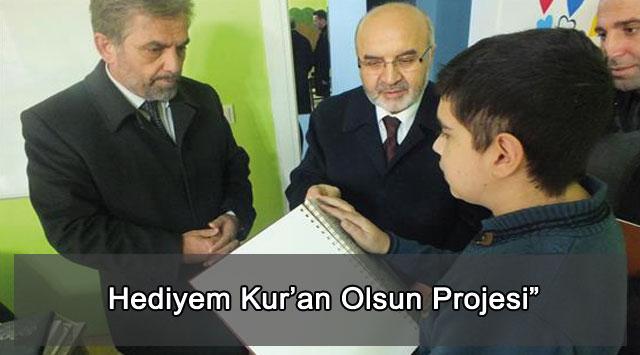 """tekirdağ Hediyem Kur'an Olsun Projesi"""""""