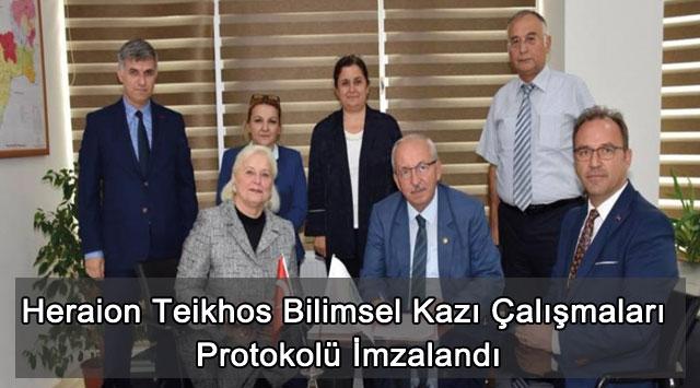 tekirdağ Heraion Teikhos Bilimsel Kazı Çalışmaları Protokolü İmzalandı
