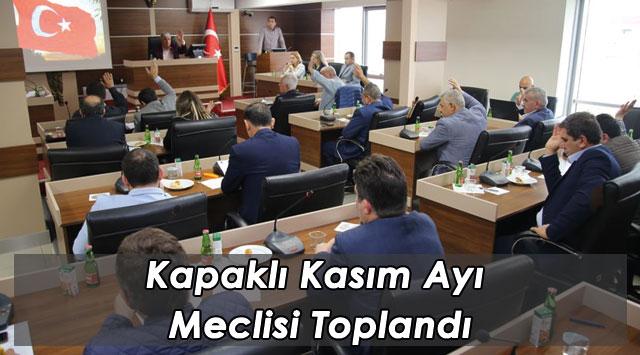 tekirdağ Kapaklı Kasım Ayı Meclisi Toplandı