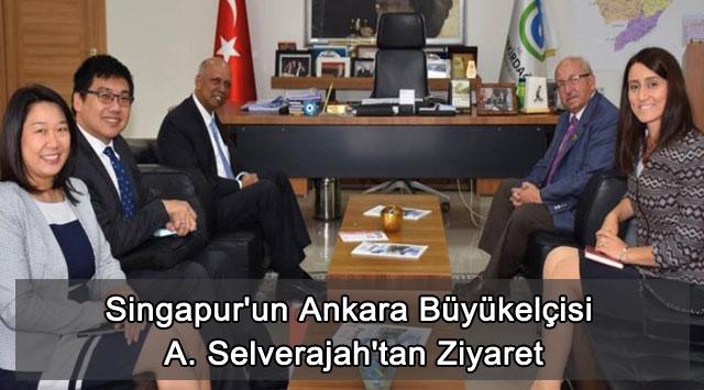 tekirdağ Singapur'un Ankara Büyükelçisi A. Selverajah'tan Ziyaret
