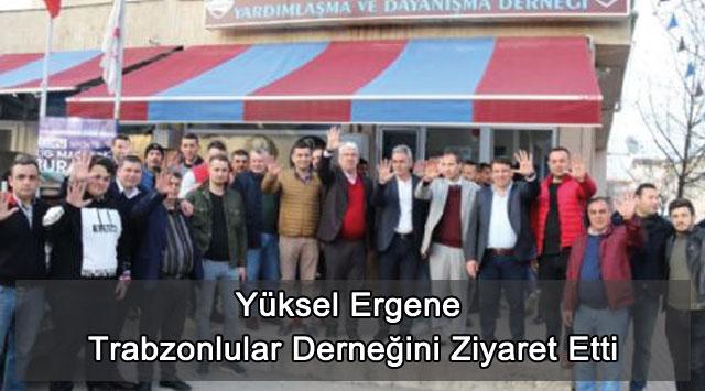 tekirdağ Yüksel Ergene Trabzonlular Derneğini Ziyaret Etti